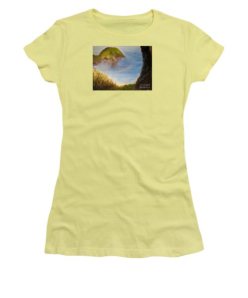 Pacific Cove Women's T-Shirt (Athletic Fit)