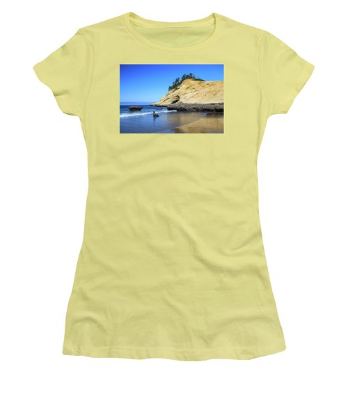Women's T-Shirt (Athletic Fit) featuring the photograph Pacific Morning by David Chandler