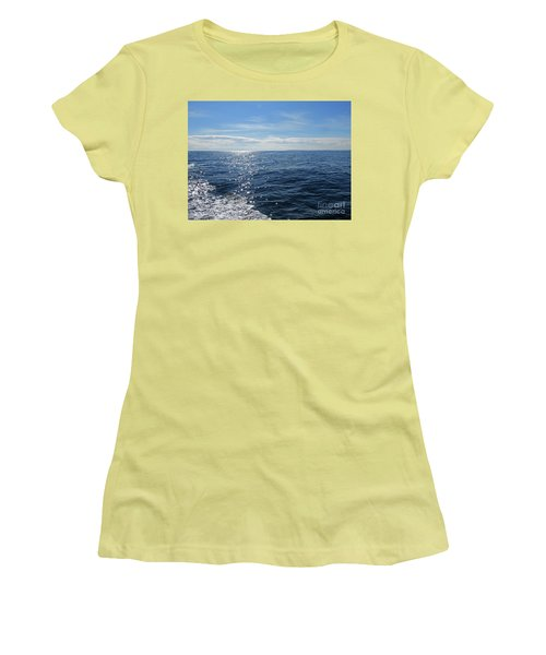Pacific Ocean Women's T-Shirt (Junior Cut) by Cindy Murphy - NightVisions