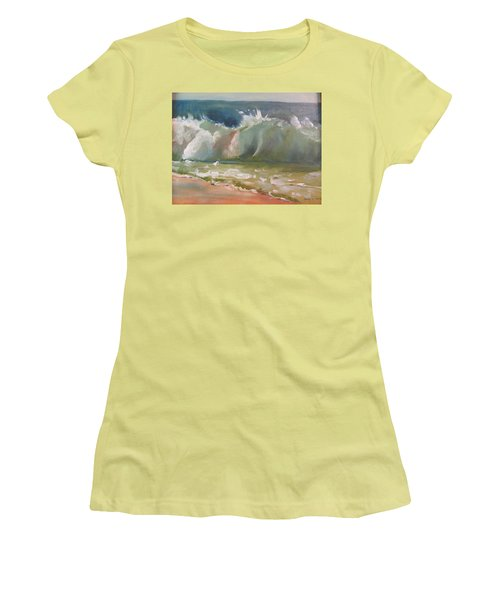 Pacific Wave Women's T-Shirt (Athletic Fit)
