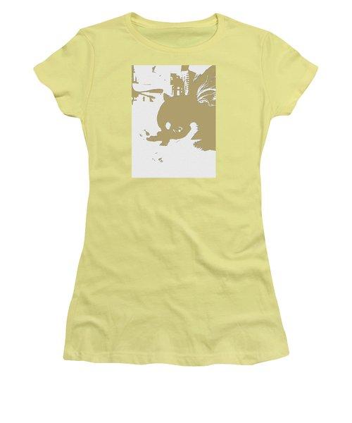 Cutie Women's T-Shirt (Junior Cut) by Roro Rop