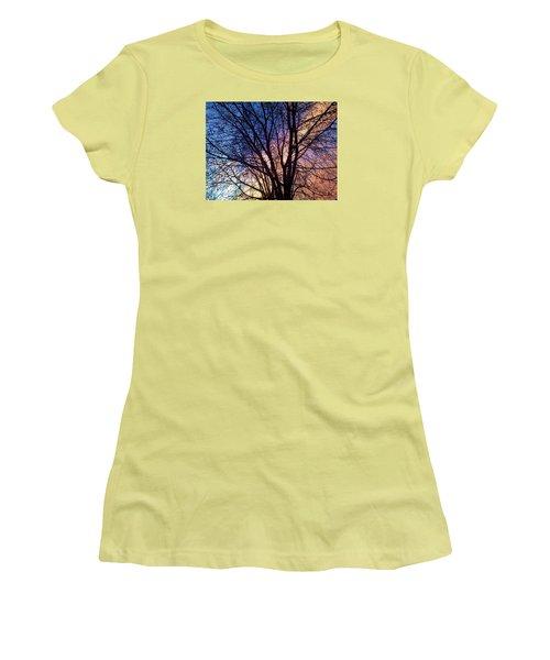 Paintbrush II Women's T-Shirt (Athletic Fit)