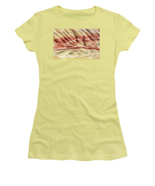 Painted Hills Landscape Women's T-Shirt (Athletic Fit)