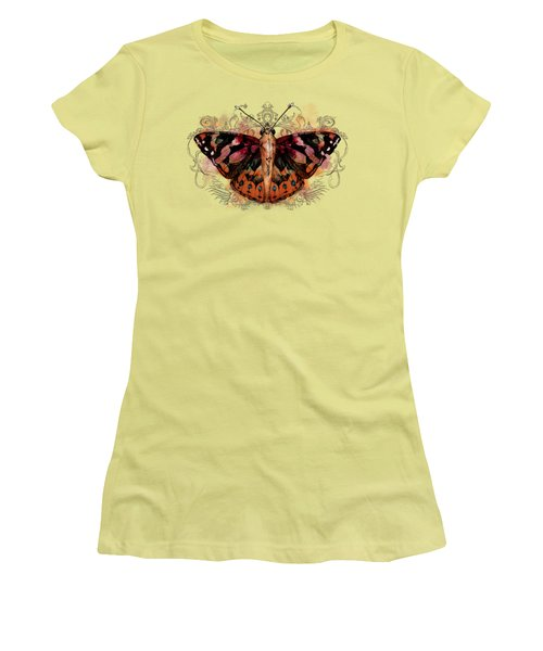 Painted Lady II Women's T-Shirt (Athletic Fit)