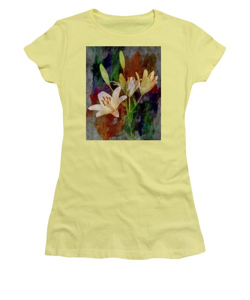 Painted Lilies Women's T-Shirt (Athletic Fit)