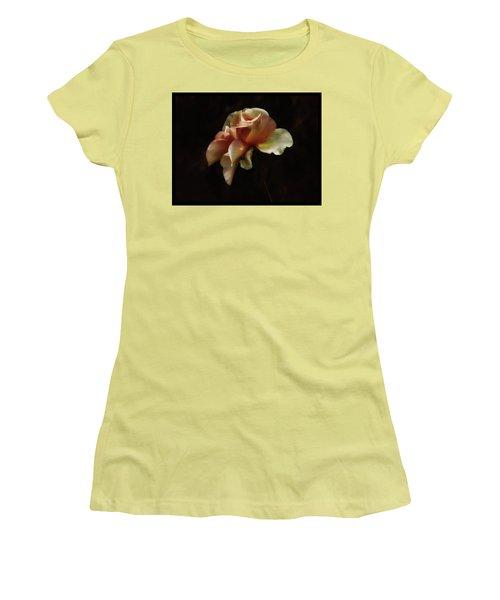 Painted Roses Women's T-Shirt (Junior Cut) by Elaine Malott