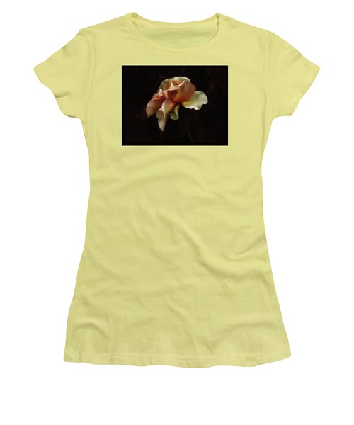 Painted Roses Women's T-Shirt (Athletic Fit)
