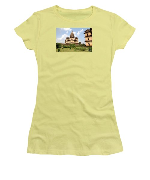 Palaces In Orccha Central India Women's T-Shirt (Athletic Fit)