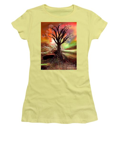 Pale Moonlight 2 Women's T-Shirt (Junior Cut)