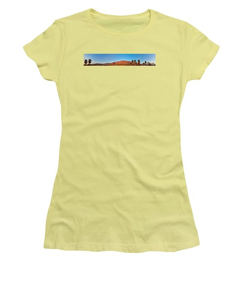 Palm Springs Sunrise Women's T-Shirt (Athletic Fit)