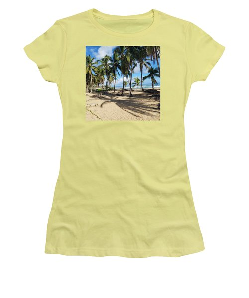 Palm Tree Family Women's T-Shirt (Athletic Fit)
