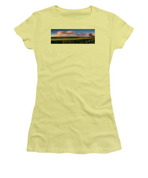 Palouse Tree Of Life Women's T-Shirt (Athletic Fit)