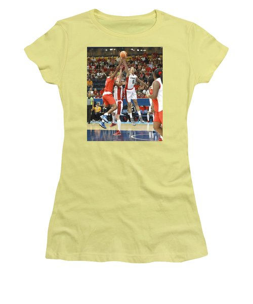 Pam Am Game Womens' Basketball Women's T-Shirt (Athletic Fit)