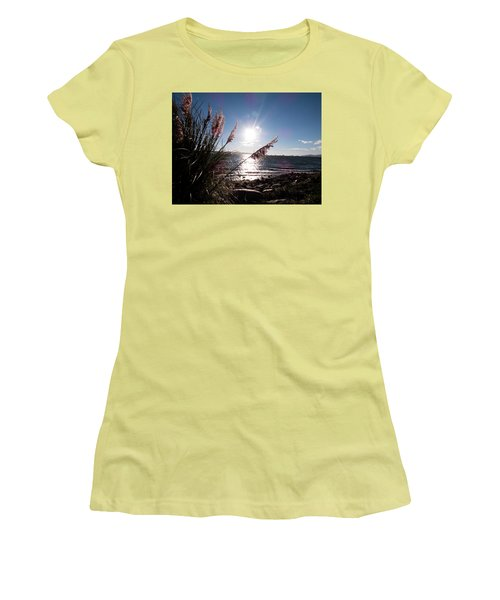 Pampas By The Sea Women's T-Shirt (Athletic Fit)