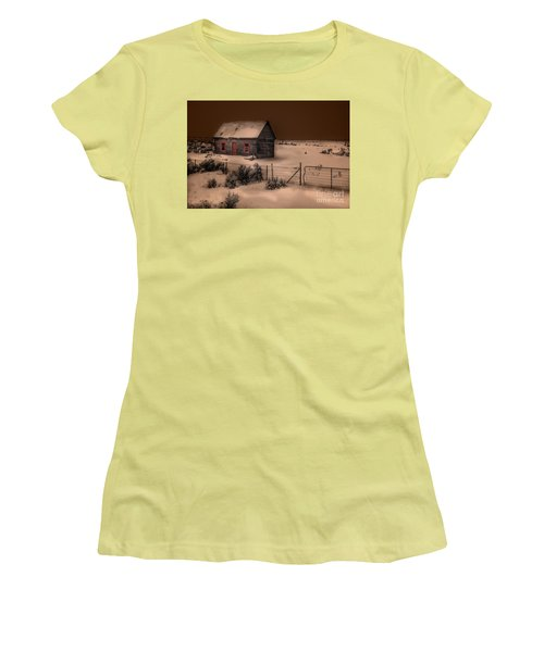 Panguitch Homestead Women's T-Shirt (Athletic Fit)