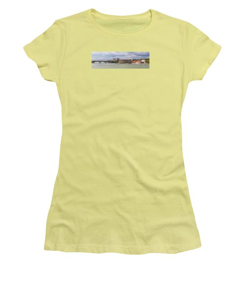 Panorama Of The Hydroelectric Power Station In Toulouse Women's T-Shirt (Junior Cut) by Semmick Photo