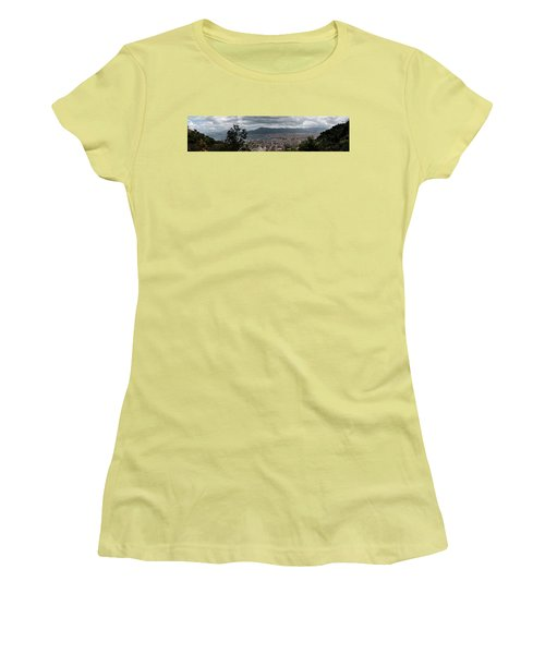 Panorama Palermo Women's T-Shirt (Junior Cut) by Patrick Boening