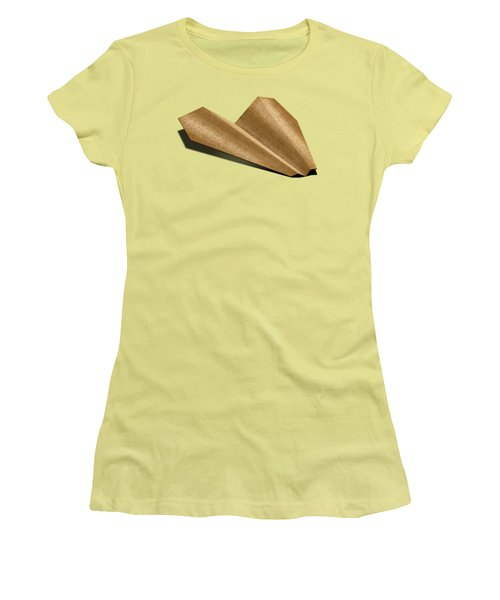 Paper Airplanes Of Wood 6 Women's T-Shirt (Junior Cut)