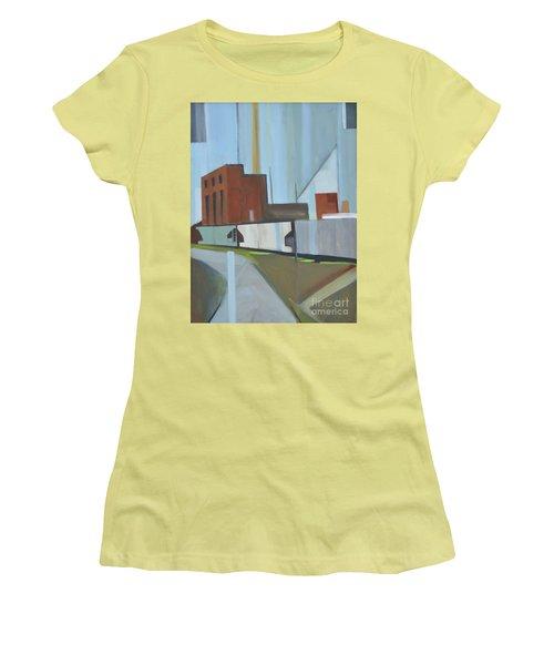 Paperboard Factory Bogota Nj Women's T-Shirt (Junior Cut) by Ron Erickson
