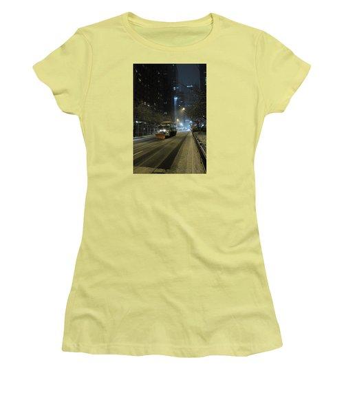 Park Avenue Bellow Grand Central Manhattan New York Women's T-Shirt (Athletic Fit)