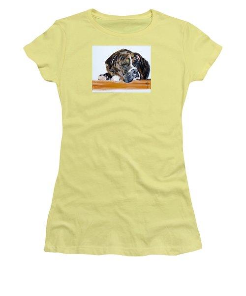 Parker  Women's T-Shirt (Junior Cut) by Jodie Marie Anne Richardson Traugott          aka jm-ART