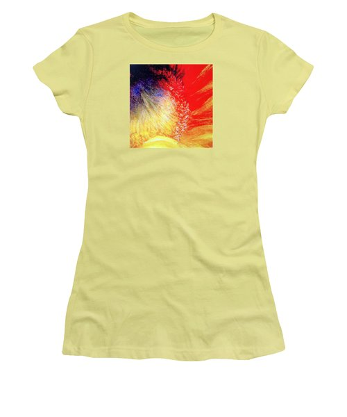 Women's T-Shirt (Junior Cut) featuring the pastel Passions From Within by Antonia Citrino