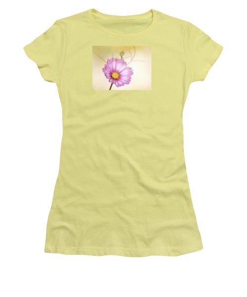 Pastel Petals Women's T-Shirt (Athletic Fit)