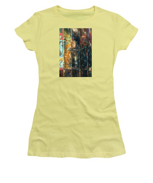 Patchworks 2 Women's T-Shirt (Athletic Fit)
