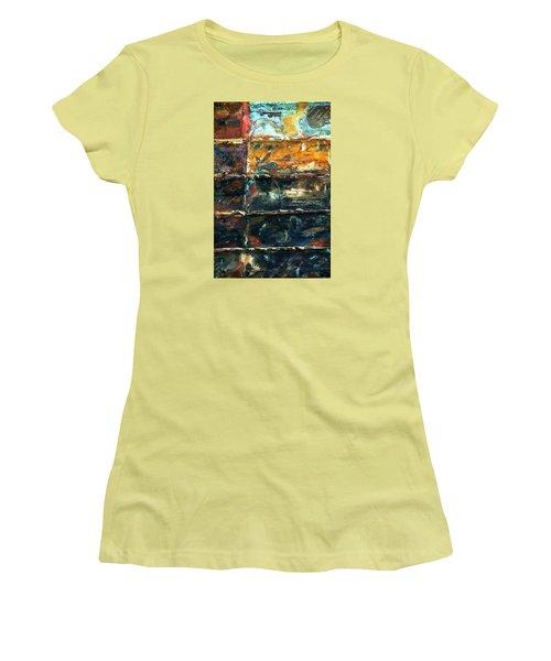 Patchworks 3 Women's T-Shirt (Athletic Fit)