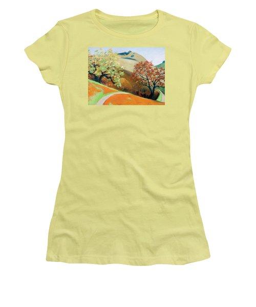 Path Women's T-Shirt (Junior Cut) by Gary Coleman