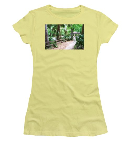 Path To Shade Women's T-Shirt (Athletic Fit)