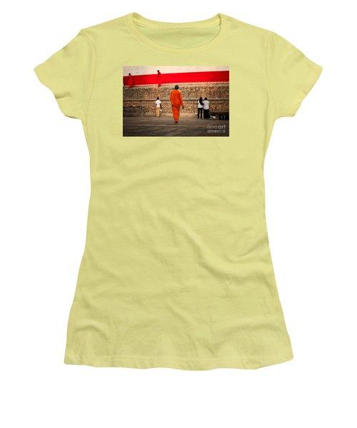 Path Women's T-Shirt (Athletic Fit)