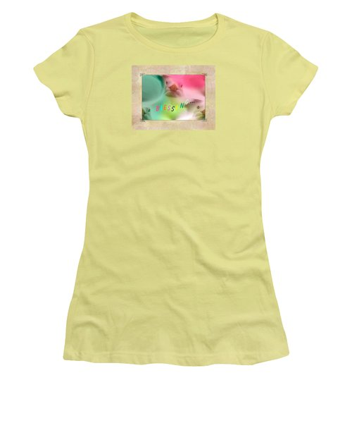 Pattern 310 _ Blessing... Women's T-Shirt (Athletic Fit)