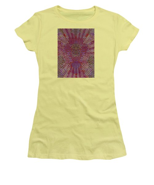 Pattern Women's T-Shirt (Athletic Fit)