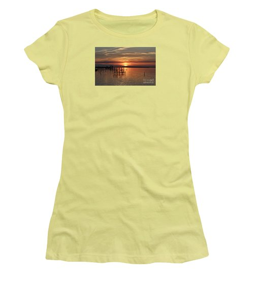 Peace Be With You Women's T-Shirt (Junior Cut) by Roberta Byram