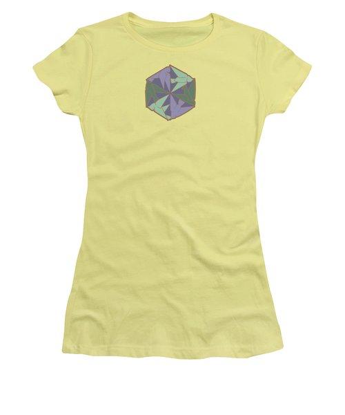 Peace Doves 6 Women's T-Shirt (Athletic Fit)