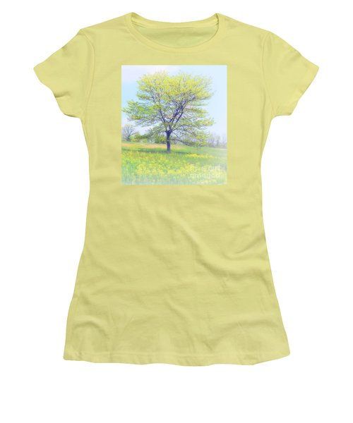 Peace On The Hillside Women's T-Shirt (Athletic Fit)