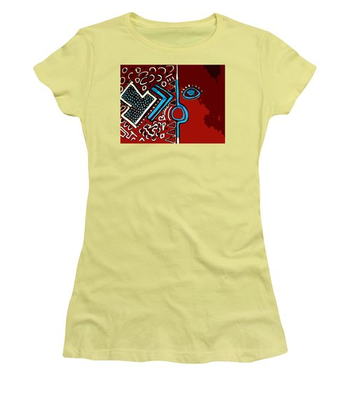 Peace Pipe Women's T-Shirt (Athletic Fit)