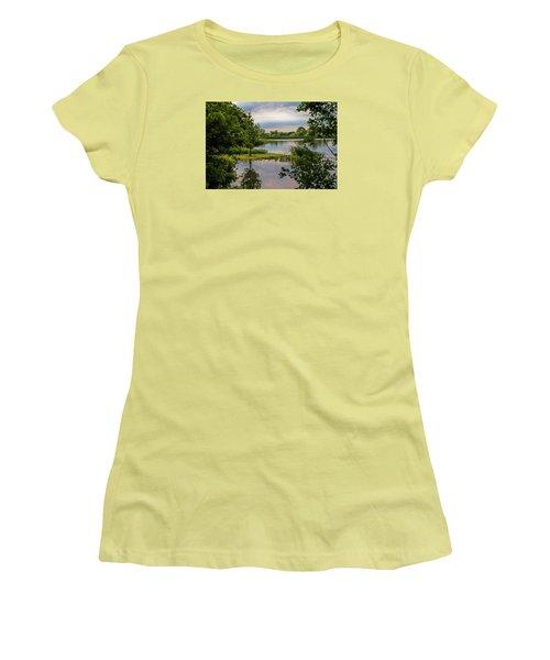 Peaceful Evening Women's T-Shirt (Junior Cut) by Alana Thrower