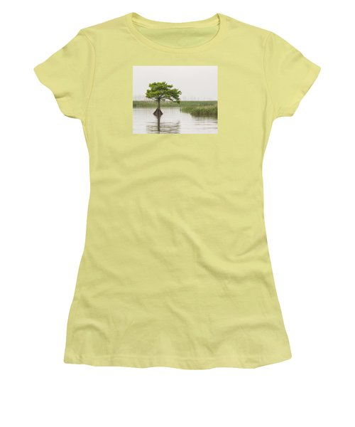 Women's T-Shirt (Athletic Fit) featuring the photograph Peaceful Feeling by Julie Andel