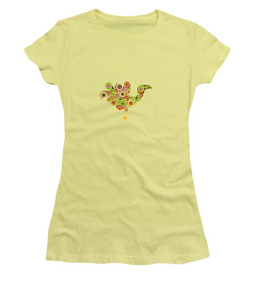 Peafowl Women's T-Shirt (Athletic Fit)