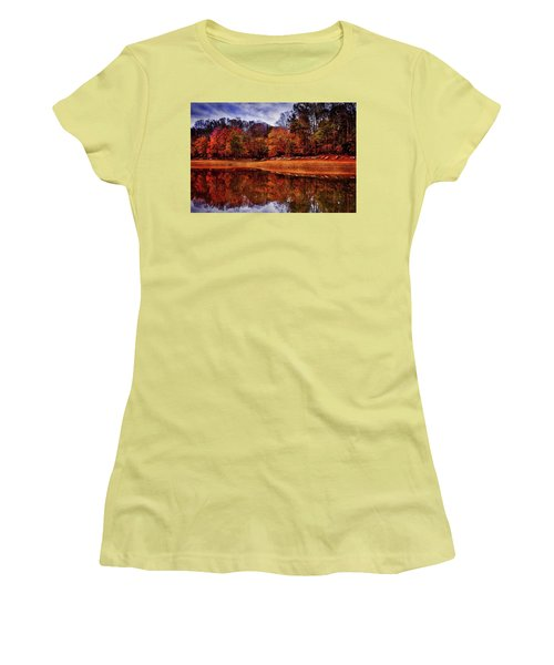 Peak? Nope, Not Yet Women's T-Shirt (Junior Cut) by Edward Kreis