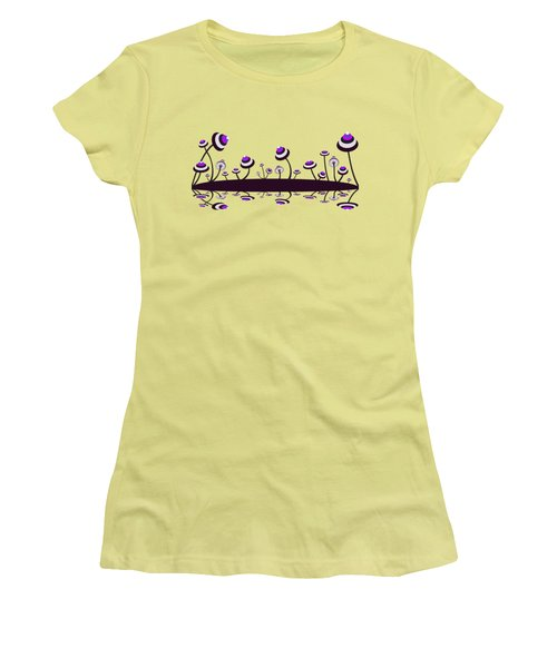 Peculiar Mushrooms Women's T-Shirt (Athletic Fit)