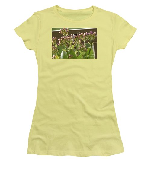Peek A Boo Women's T-Shirt (Junior Cut) by Anne Rodkin