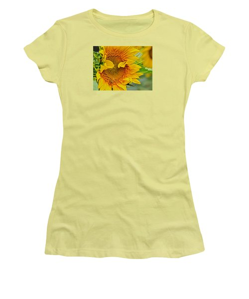 Peek A Boo Women's T-Shirt (Junior Cut) by Joanne Brown
