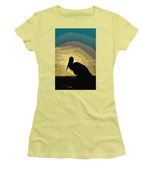 Pelican Paint Women's T-Shirt (Athletic Fit)