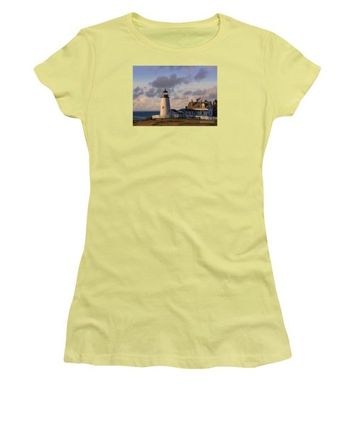 Pemaquid Morning Women's T-Shirt (Athletic Fit)