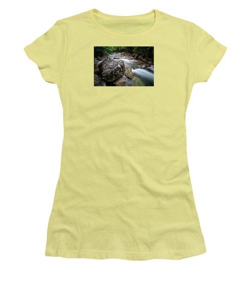 Pemi-basin Trail Women's T-Shirt (Athletic Fit)