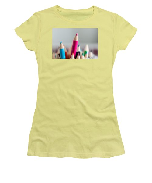 Pencils 4 Women's T-Shirt (Athletic Fit)