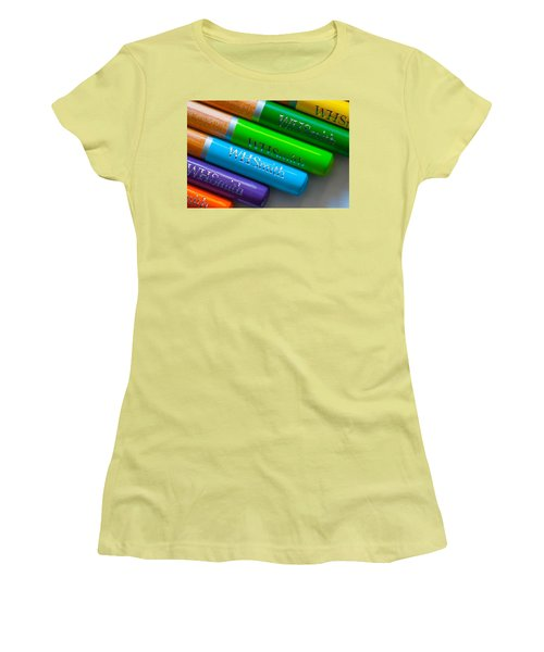 Pencils 5 Women's T-Shirt (Athletic Fit)